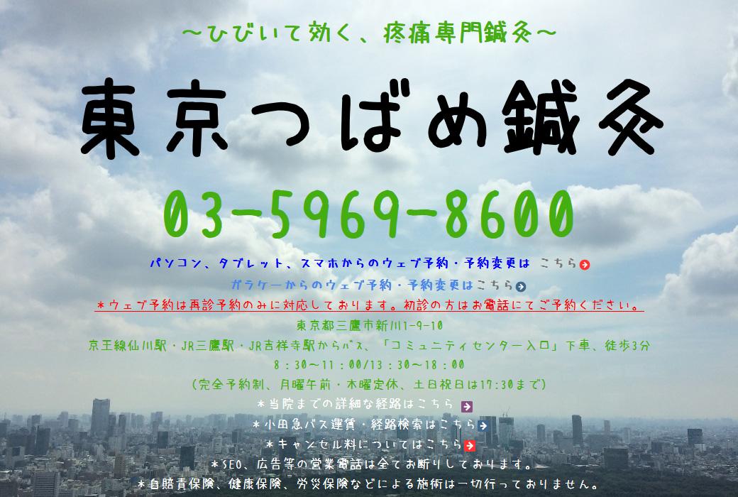 東京つばめ鍼灸様 導入事例